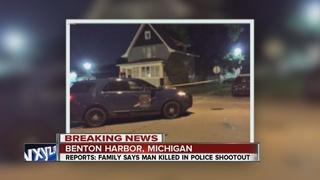 Man shot & killed by police in Benton Harbor