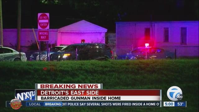 Barricaded gunman: Police rescue 2 children