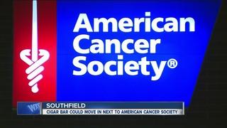 Cancer survivors critical of proposed cigar bar