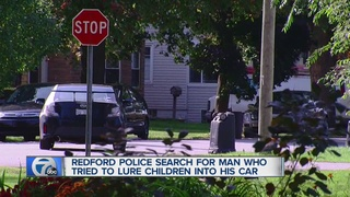 POLICE: Man tries to lure children into his car