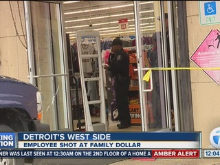 Family Dollar employee shot in robbery