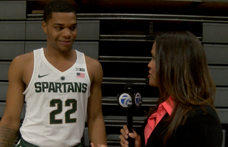 Much expected from MSU freshman Miles Bridges