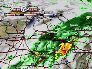 FORECAST: More rain tonight