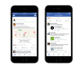 Getting recommendations on Facebook now easier