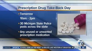National Prescription Drug Take-Back Day on Sat.