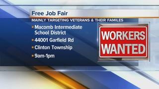 Job fair targeting veterans and their families