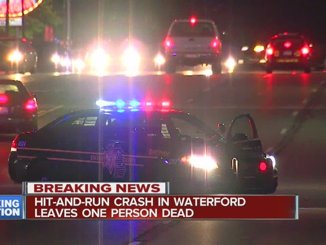 Deputies investigate deadly hit-and-run in Waterford Township