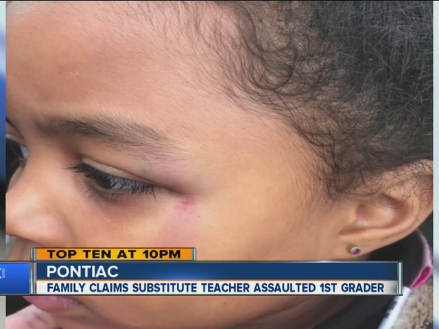 Family claims substitute assaulted first grader