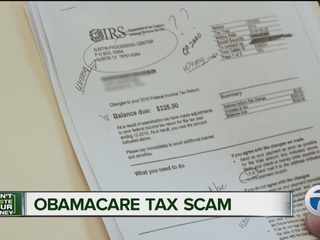 Beware of this Obamacare tax scam