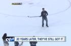 Crazy video: U-M hockey alum scores wacky goal