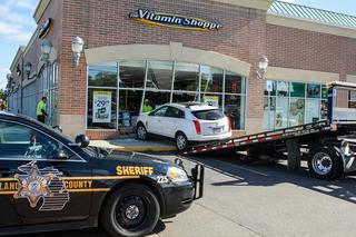 SUV crashes into Rochester Hills Vitamin Shoppe