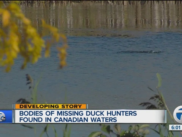 Bodies of missing duck hunters found in Canadian waters