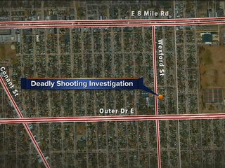 Detroit police investigating deadly shooting