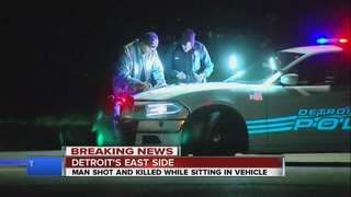 Man found shot to death on Detroit's east side