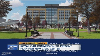 Royal Oak officials to present civic center plan