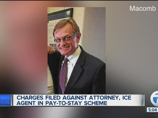 Charges filed against attorney, ICE agent