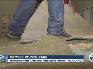 Homeowners demand answers about flooding