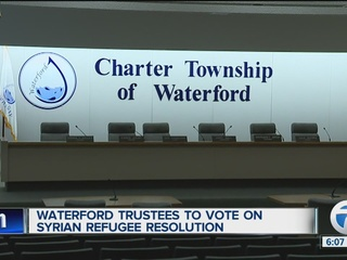 Local leaders pass resolution against refugees