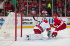 Larkin scores twice to lead Red Wings past Canes