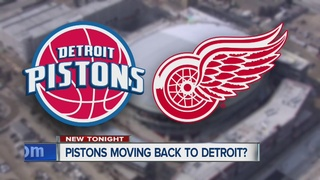 Pistons may move to downtown Detroit