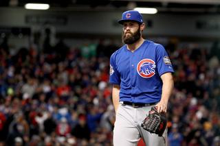 Arrieta deals, Cubs awaken to even World Series