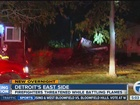 Detroit firefighters threatened at scene of fire