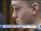 Man sentenced to prison in fatal crash