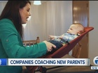 Companies offer coaching service to new parents