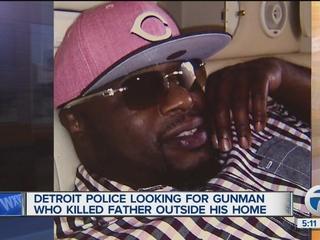Father of nine shot and killed outside home