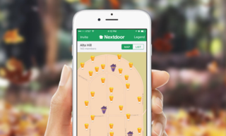 "Neighborhood social network launches ""Treat Map"""