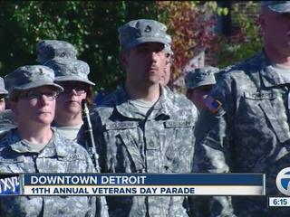 Verlander's foundation holds parade for veterans