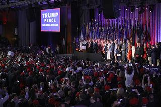 PHOTOS: Donald Trump elected as president