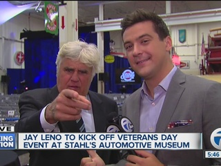 Leno, Red Wings alums headline Veterans Day gala