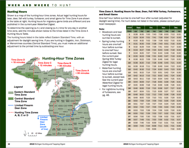 Michigan39s Firearm Deer Season Begins Tuesday DNR Offers