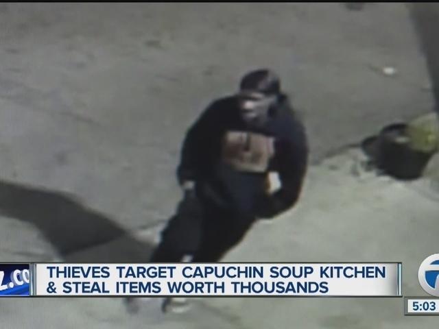 Surveillance Video Shows Thieves Who Targeted Detroit 39 S Capuchin Soup Kitchen