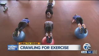 Crawling has some fitness experts going gaga