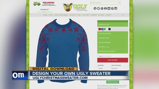 Tool lets you design own ugly Christmas sweater