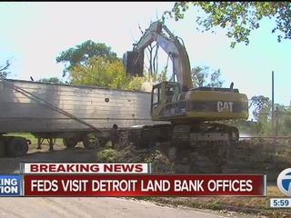 Feds continue probe at Detroit Land Bank