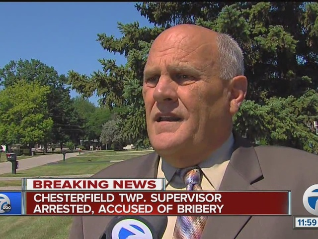 Chesterfield Township supervisor arrested & charged for