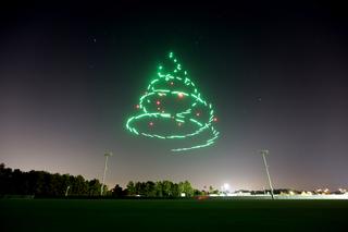 Disney, Intel partner for giant drone light show