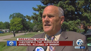 Third Macomb Co. official arrested for bribery