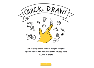 GAME: Can a neural network guess your doodles?