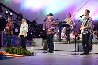 Beach Boys performing at NAIAS Charity Preview