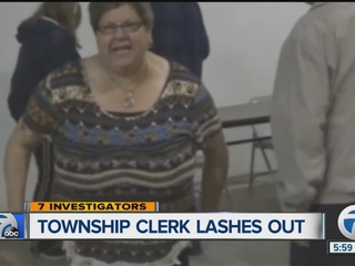 Town Clerk attack caught on tape