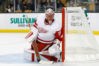 Red Wings recall Coreau, place Howard on IR