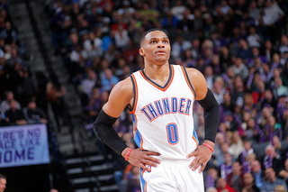 Triple-double for Westbrook; Thunder top Pistons