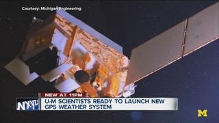 U-M satellites launch scrubbed for today