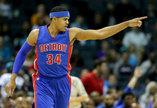 Harris scores 24; Pistons blow by Hornets