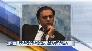Doctors sued for allegedly faking surgeries