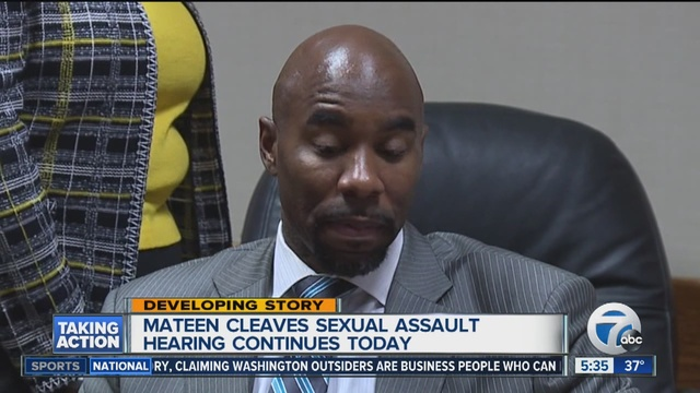 Woman with Cleaves didn't mention an assault